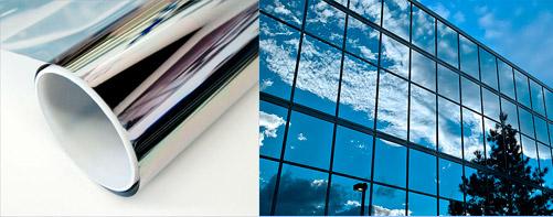 Pellicole a controllo solare per vetri - Pellicola riflettente per finestre ...